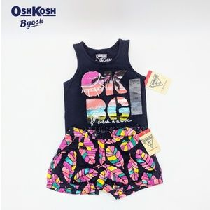 OSHKOSH B'GOSH Tank Top & Shorts Set 24M NWT